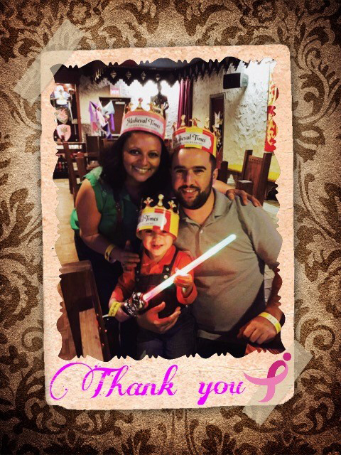Fadila and Family-Medieval Times 2016